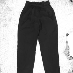 High Waisted Black Dress Pants